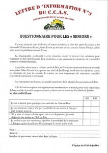 Lettre CCAS n°3