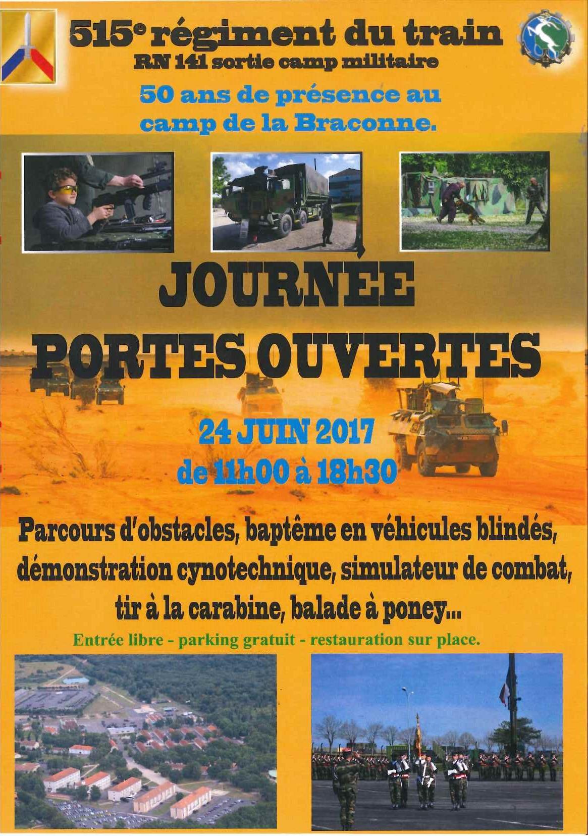 Journ e portes ouvertes 515 me r giment du train - Porte ouverte mulhouse culte en ligne ...