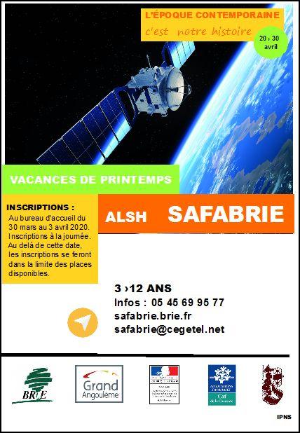 SAFABRIE Printemps 2020